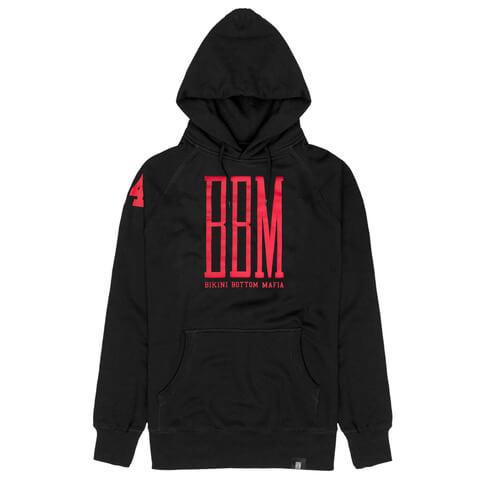 BBM Red Logo Hoodie von BBM - Kapuzenpullover jetzt im BBM Store Shop