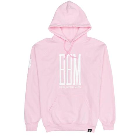 BBM Logo Hoodie rosa von BBM - Hoodies jetzt im BBM Store Shop