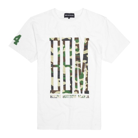 BBM White Camo T-Shirt von BBM - T-Shirts jetzt im BBM Store Shop